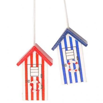 Beach House Nautical Light Pulls - Red